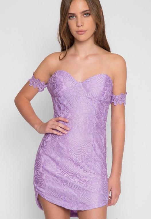 Just Like Heaven Lace Dress alternate img #1