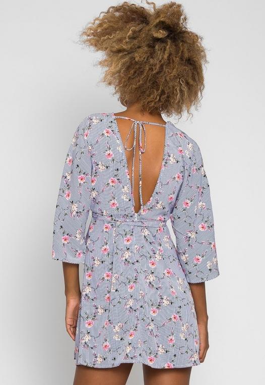 Gardens Kimono Dress alternate img #2