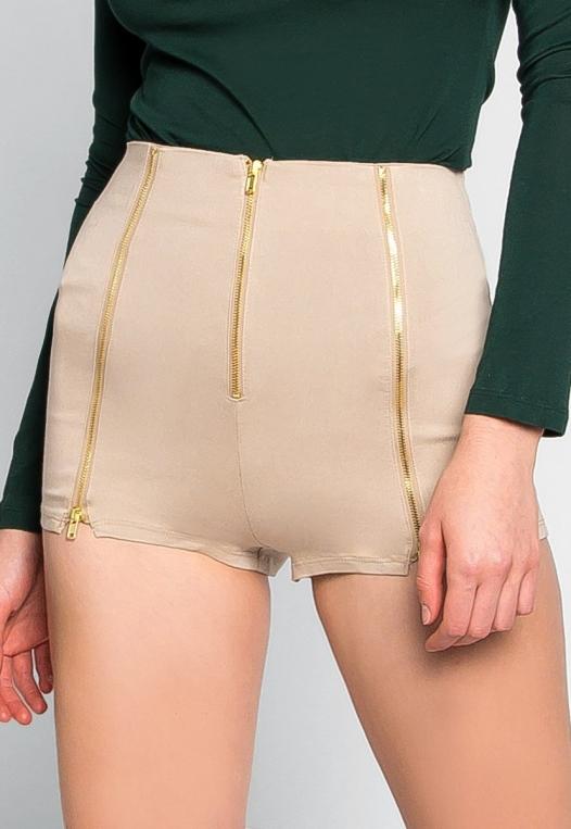 Chainlink High Waist Shorts alternate img #2