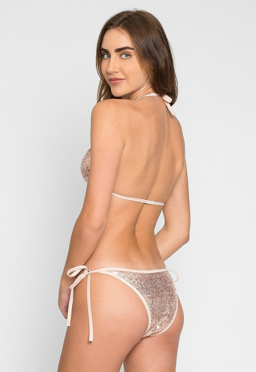 Sweet Luxe Sequin Bikini Set alternate img #2