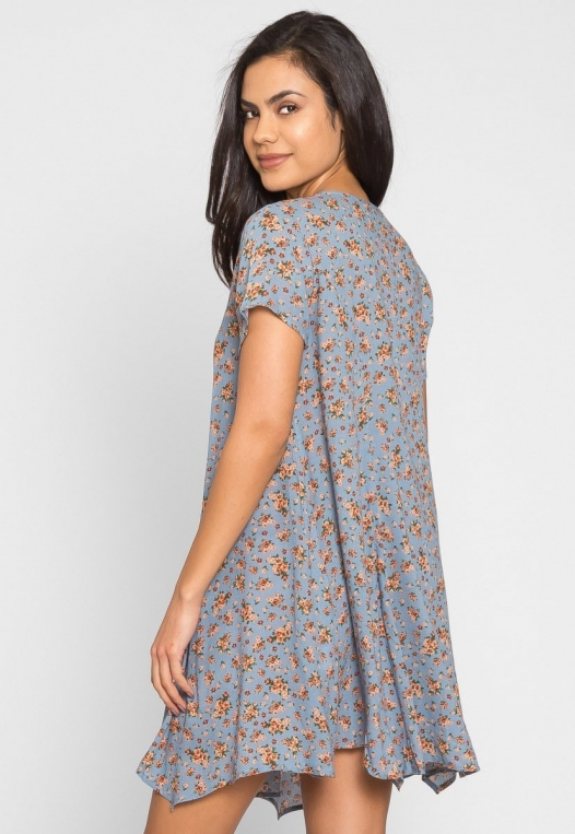 Zoey Floral Tunic Dress alternate img #2