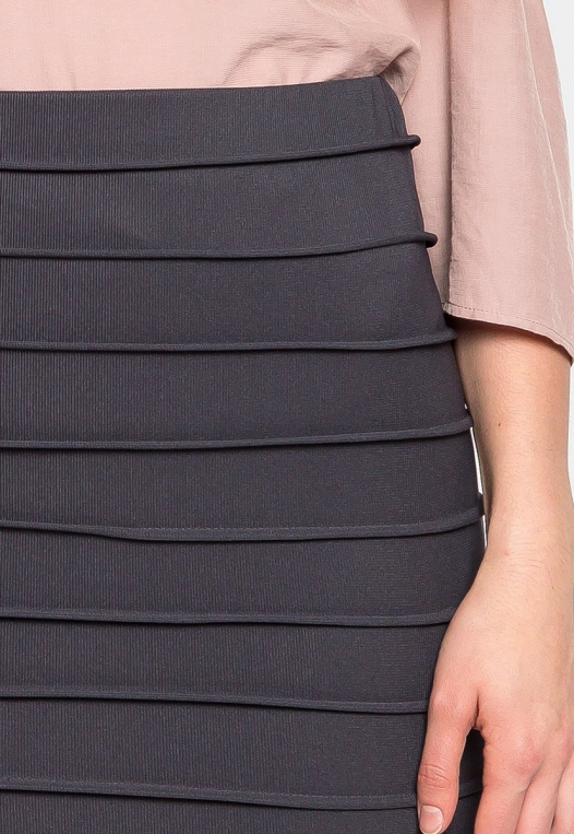 Keep a Secret Textured Mini Skirt alternate img #6