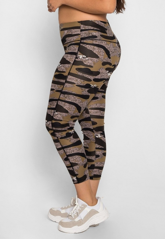 Plus Size Daybreak Active Leggings alternate img #4