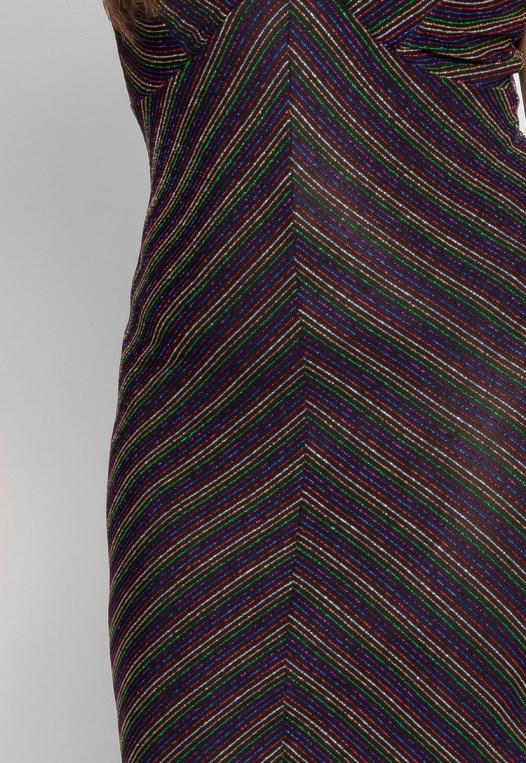 Plus Size Remarkable Metallic Dress alternate img #6
