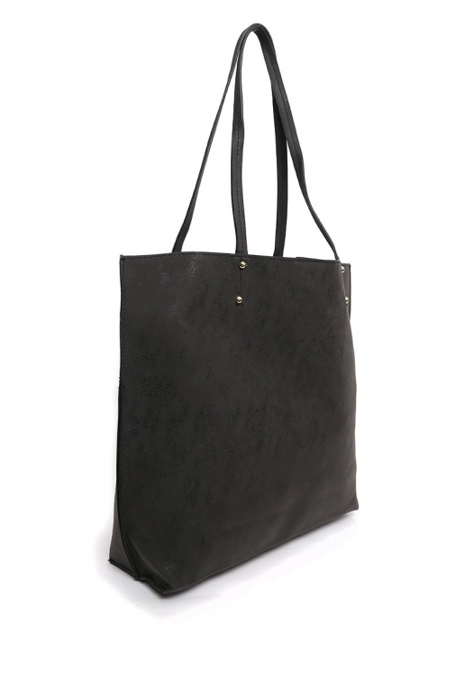Paisley Perforated Tote Handbag alternate img #4