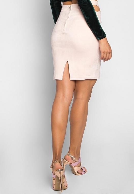 Africa Mini Skirt in Blush alternate img #2