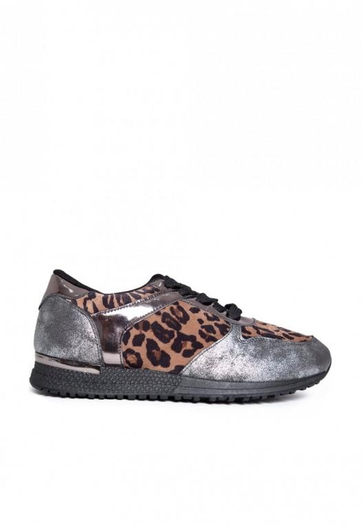 Fearless Animal Print Sneakers alternate img #1