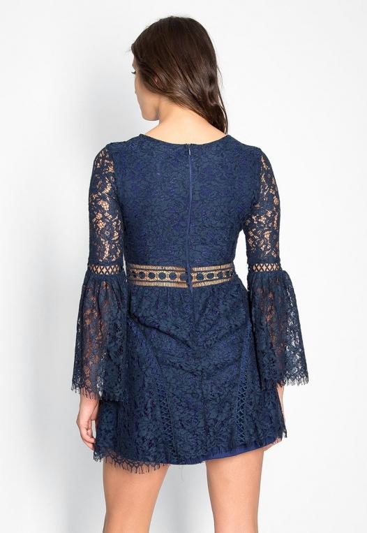 Last Dance Lace Mini Dress alternate img #2