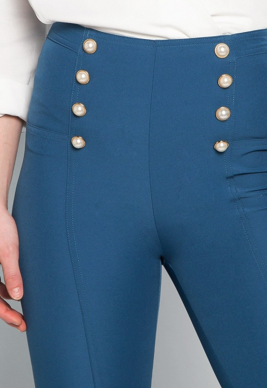 About You Pearl Button Flare Pants alternate img #6