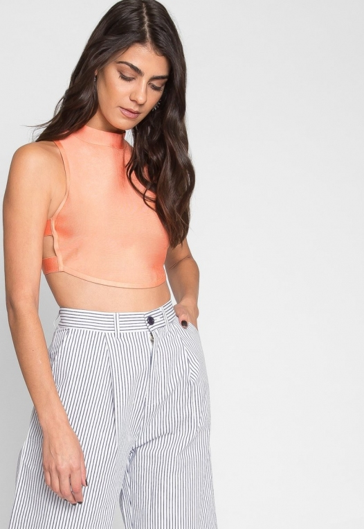 Planned Out Knit Crop Top alternate img #5