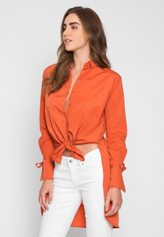 Excited High Low Oversized Shirt alternate img #4