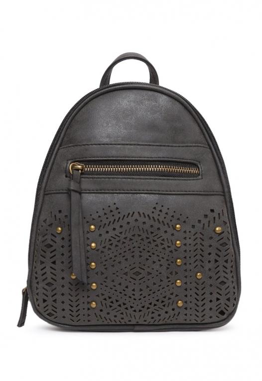 Studded Perforated Stud Mini Backpack alternate img #1