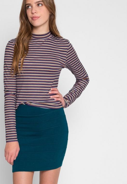 Sandy Mini Skirt in Teal alternate img #5