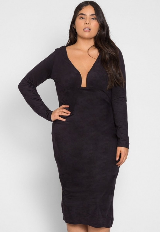 Plus Size After Party Bodycon Dress alternate img #1