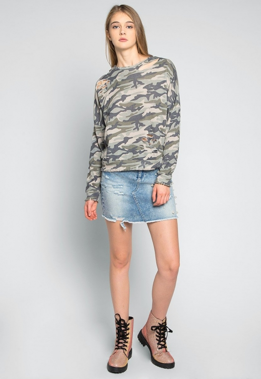 Far From Home Camo Sweatshirt alternate img #4