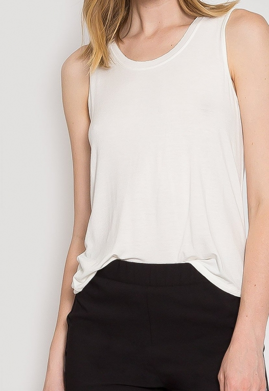 Summer Lush Tank Top in White alternate img #7