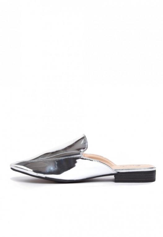 Pixie Metal Mule Slippers alternate img #2