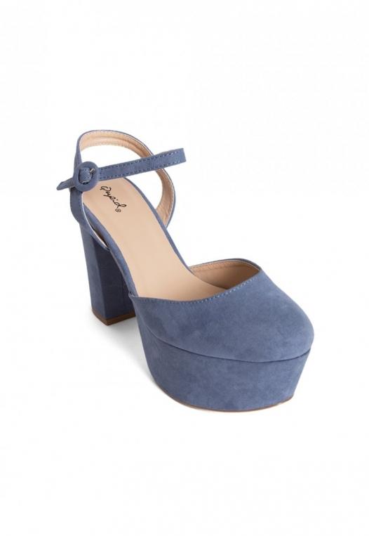 Abbott Ankle Strap Platform Heels alternate img #4