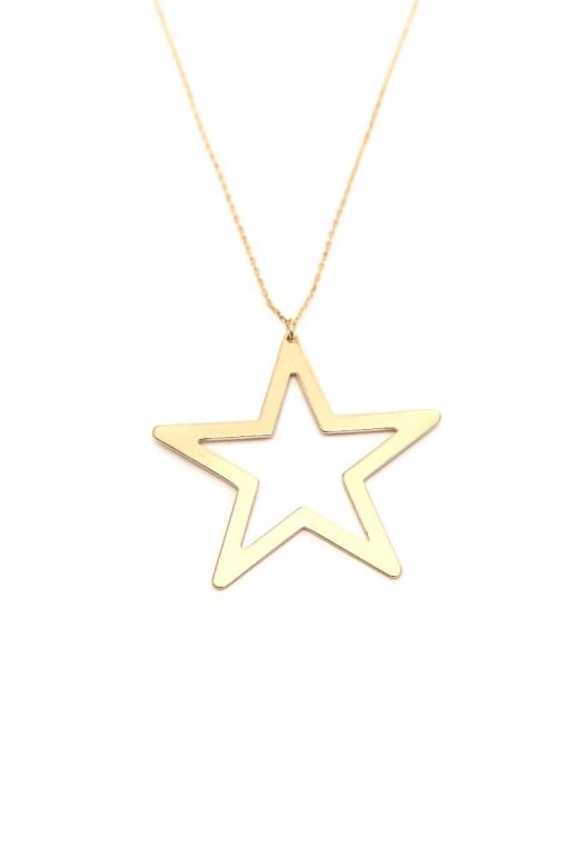 Focus Star Charm Necklace alternate img #2