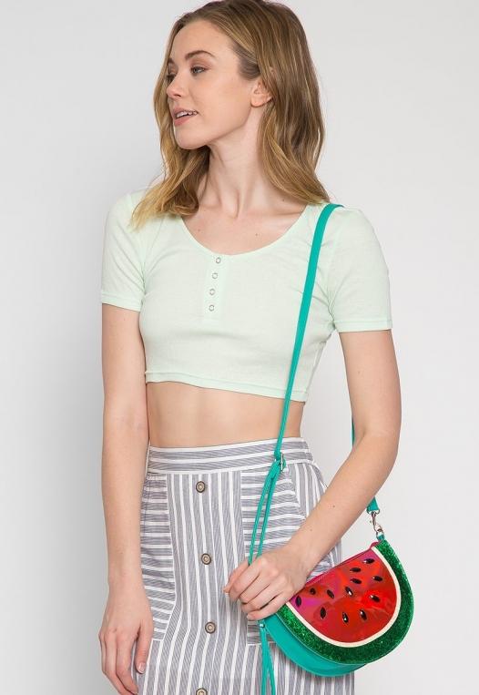 Watermelon Novelty Crossbody Bag alternate img #2