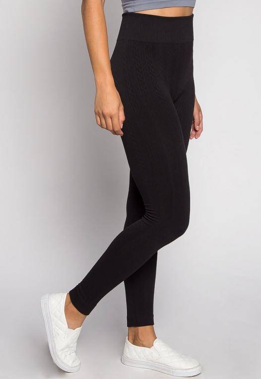 Cozy Up Fleece Leggings alternate img #2