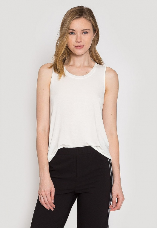 Summer Lush Tank Top in White alternate img #2