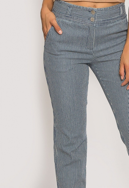 Newport Stripe Slim Pants alternate img #6