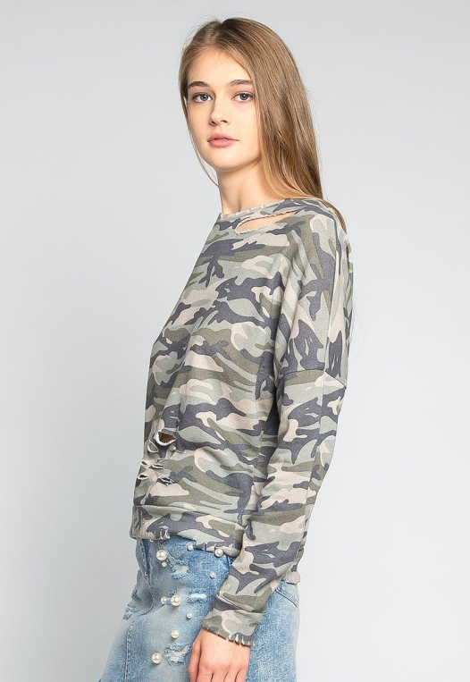 Far From Home Camo Sweatshirt alternate img #3