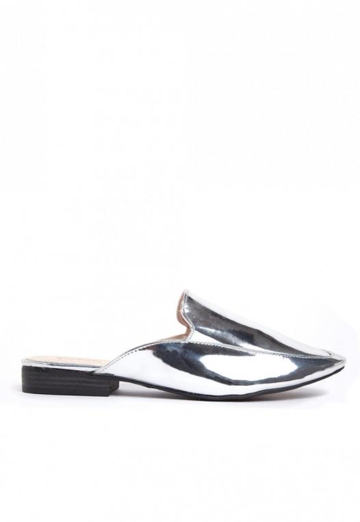 Pixie Metal Mule Slippers alternate img #1