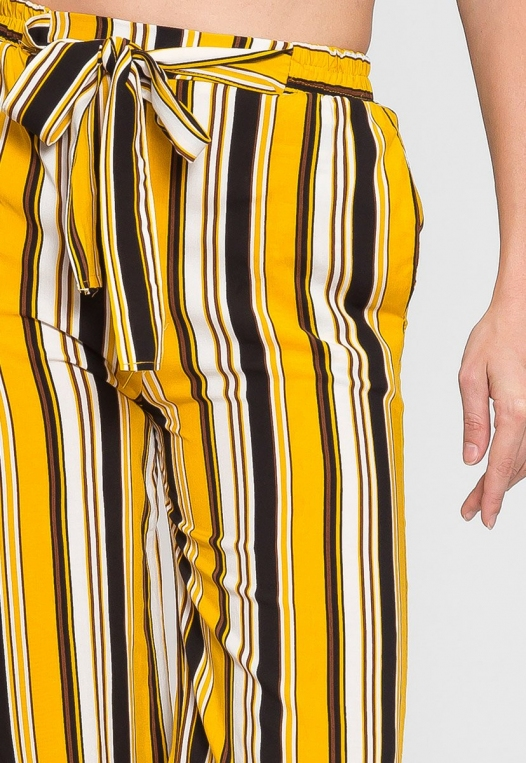 Sunsets High Waist Stripe Pants alternate img #6
