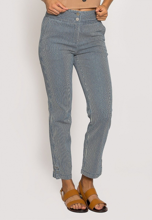 Newport Stripe Slim Pants alternate img #1