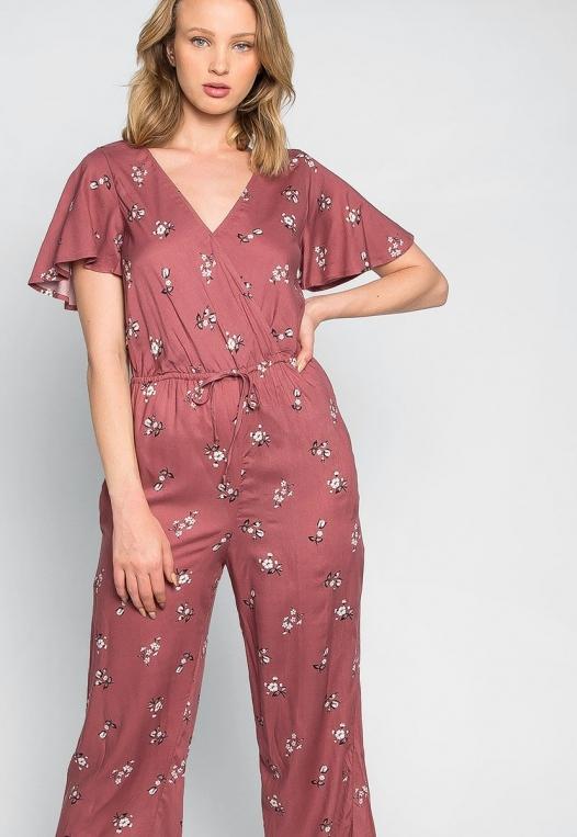 Simple Love Floral Jumpsuit alternate img #5