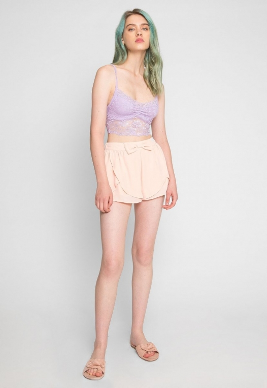 Aroma Light Lace Bralette in Lavender alternate img #5