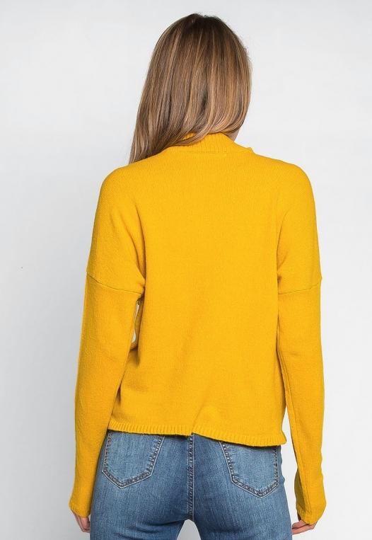 Pearl Embellished Mock Neck Sweater alternate img #2
