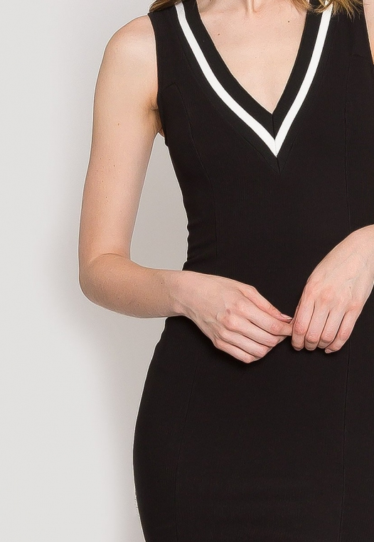 Pacific Varsity V-Neck Dress alternate img #6
