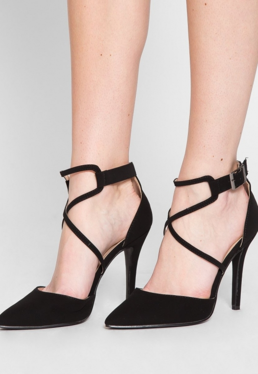 Antonia Ankle Strap Heels alternate img #1