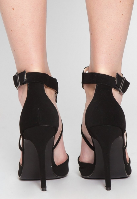 Antonia Ankle Strap Heels alternate img #3