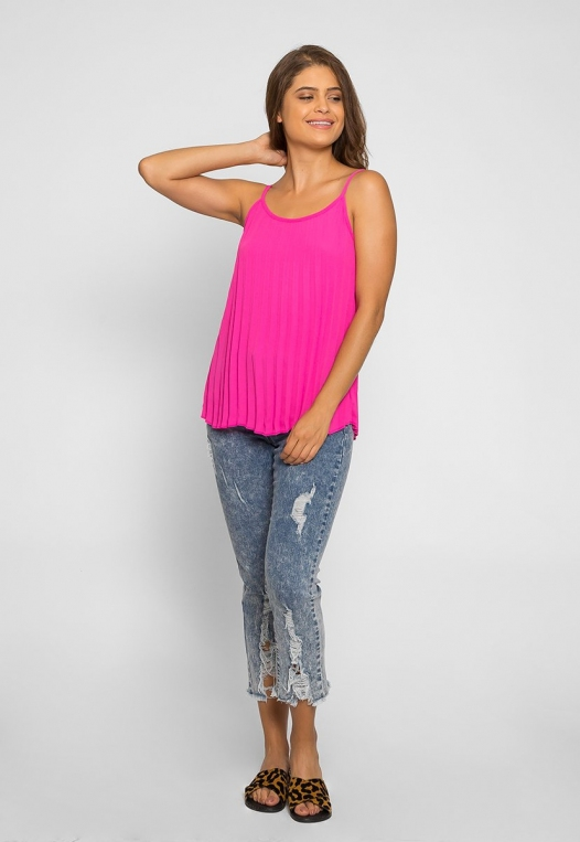 Day Out Pleated Cami Top alternate img #4