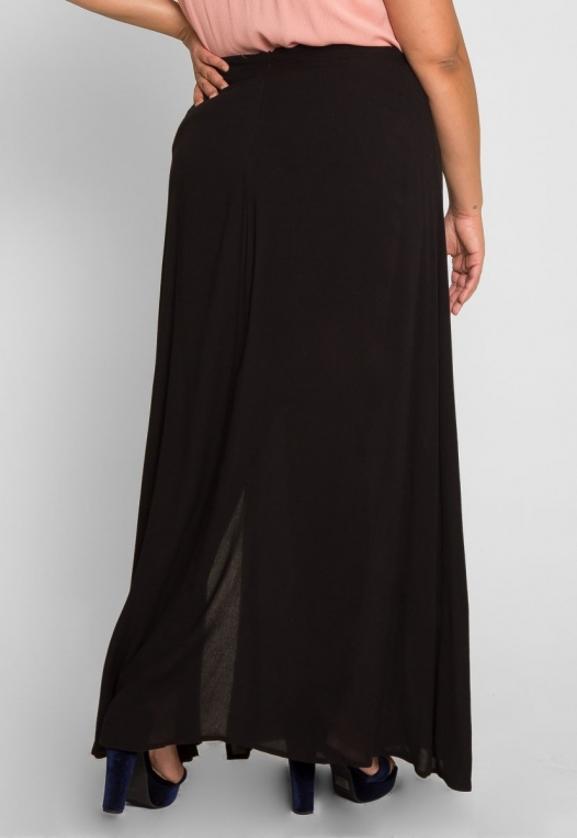Plus Size Prairie Fields Maxi Skirt alternate img #4