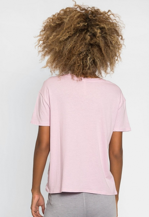 Unity Oversized Tee in Orchid alternate img #2