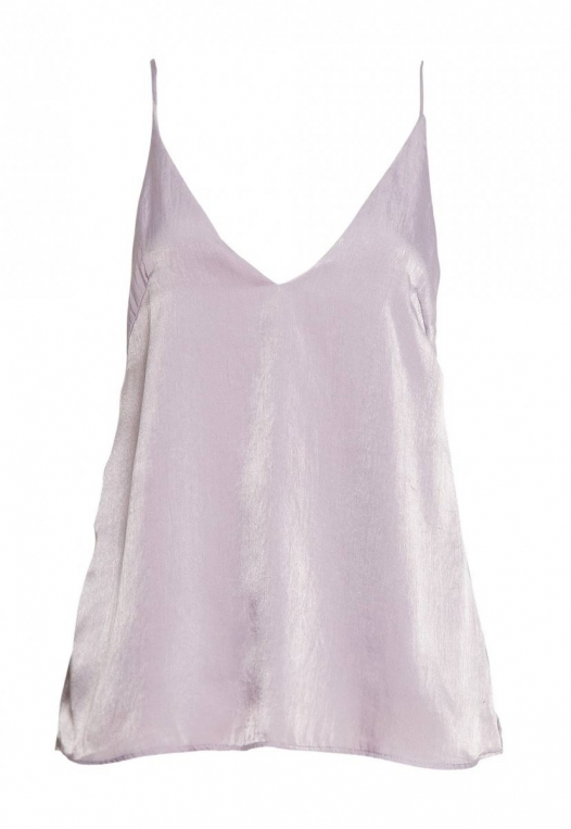 Bright Eyes Satin Cami Top in Mauve alternate img #7