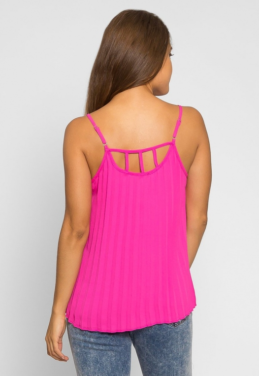 Day Out Pleated Cami Top alternate img #2