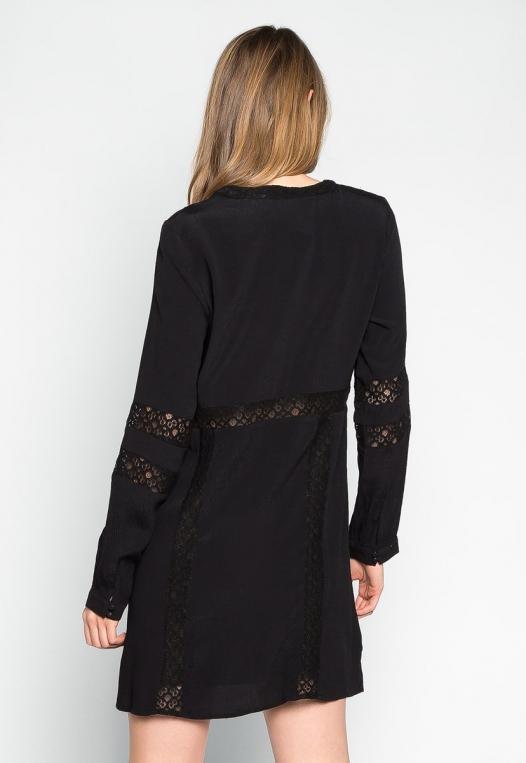 Riverside Lace Inserts Tunic Dress alternate img #2