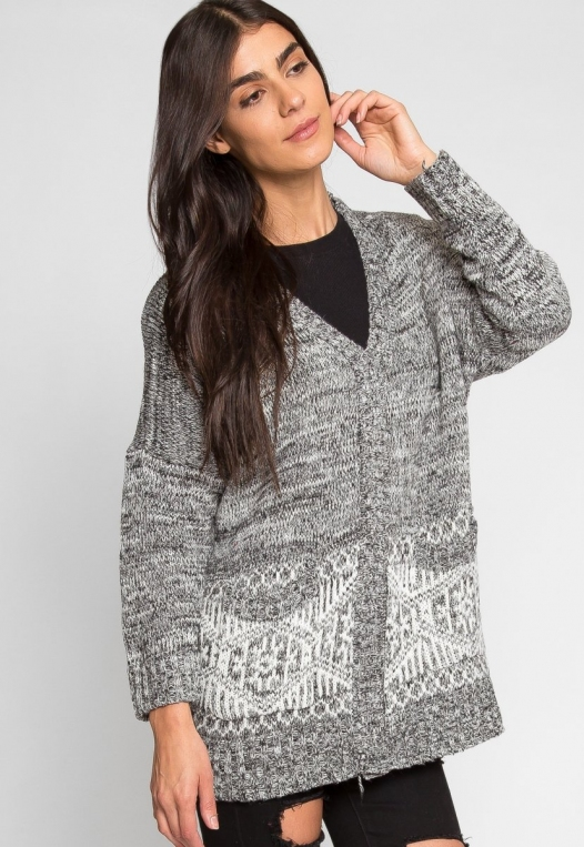 Soul Buttoned Cardigan alternate img #2