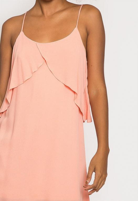 Creme Breezy Dress alternate img #6