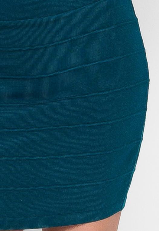 Sandy Mini Skirt in Teal alternate img #6