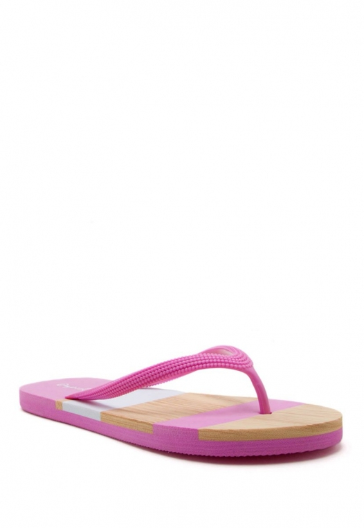 Ice Cream Stripe Flip Flops alternate img #1