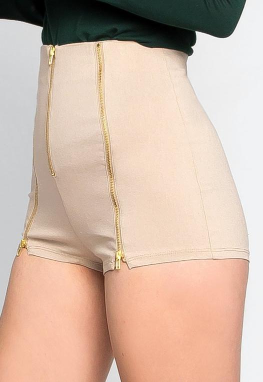 Chainlink High Waist Shorts alternate img #4