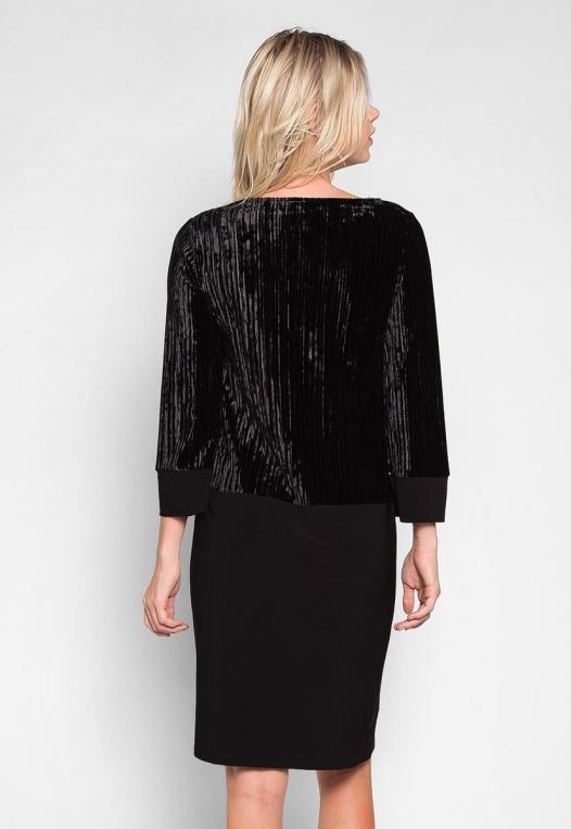 Cool Dance Velvet Top Mini Dress alternate img #2