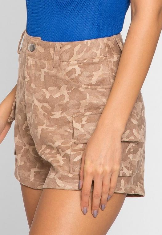 Wild Camo Cargo Shorts alternate img #5